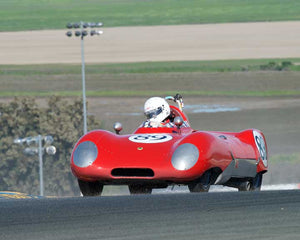John Hurabiell with 1956 Lotus Eleven in Group 9 - at the 2016 CSRG David Love Memorial - Sears Point Raceway