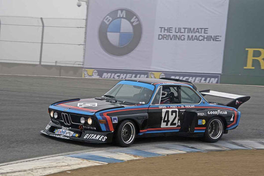 Andrew Cannon - 1975 BMW 3.5 CSL Group 5 in Group 4A  at the 2016 Rolex Monterey Motorsport Reunion - Mazda Raceway Laguna Seca