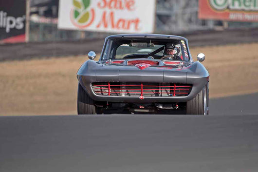 Chevroley Corvette in Group 3 - Large Displacement Production Sports Cars through 1967 at the 2017 CSRG Charity Challenge run at Sonoma Raceway