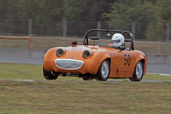 Brian Volkert - 1960 Austin Healey Sprite in Group 1 at the 2016 SOVREN Columbia River Classic - Portland International Raceway
