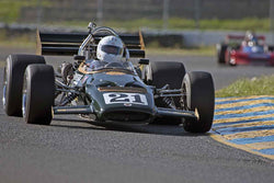 Bruce Lesson - McLaren M10B in Group 7 at the 2017 CSRG David Love Memorial - Sears Point Raceway