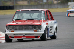 Kevin Shaha with 1971 Datsun 510 in Group 8 -  at the 2016 Portland Vintage Racing Festival - Portland International Raceway
