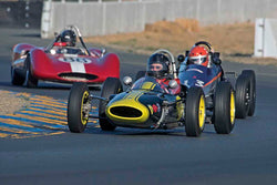 Jack Fitzpatrick - 1963 Lotus 27 Fr JR in Group 4&5 - Small Displacement Sports Racing Cars through 1967 & Formula Junior & Formula Vee open wheel cars at the 2017 CSRG Charity Challenge run at Sonoma Raceway