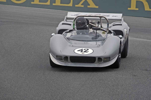 Farrell Preston - 1965 McLaren M1B in Group 5A  at the 2016 Rolex Monterey Motorsport Reunion - Mazda Raceway Laguna Seca