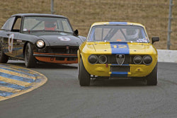 Don Forrester - 1969 Alfa Romeo GTV in 1956-72 Production & GT Cars under 2000cc - Group 9 at the 2017 SVRA Sonoma Historic Motorsports Festivalrun at Sonoma Raceway
