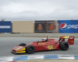 Bob Baker driving his Ralt RT1 in Group 2 at the 2015 HMSA Spring Club Event at Mazda Raceway Laguna Seca