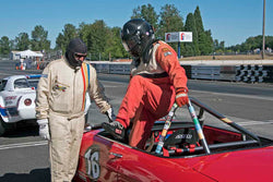 Enduro at the 2017 SVRA Portland Vintage Racing Festival run at Portland International Raceway
