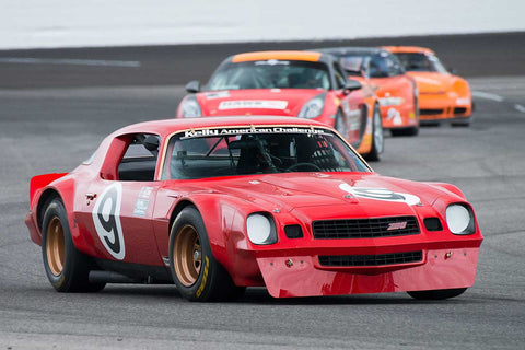 Chevrolet Camaro - Group 6 at the 2017 Brickyard Vintage Racing Invitationalrun at Indianapolis Motor Speedway