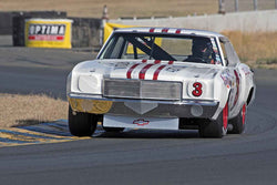 Richard Orme - 1971 Chevrolet Monte Carlo in 1963-72 Grand National Stock Cars - Group 5 at the 2017 SVRA Sonoma Historic Motorsports Festivalrun at Sonoma Raceway