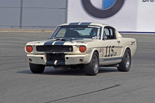 Bob Stockwell - 1965 Ford Mustang in Group 6B  at the 2016 Rolex Monterey Motorsport Reunion - Mazda Raceway Laguna Seca