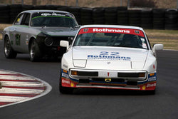 Delaney Sturgeon with 1986 Porsche Rothman Cup 944 in Group 8 -  at the 2016 Portland Vintage Racing Festival - Portland International Raceway