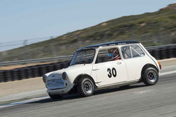 Timothy De Silva - 1962 Austin Mini Cooper in 1966-1972 Trans-Am 2.5-Litre/Group E at the 2017 SCRAMP Spring Classic run at Mazda Raceway Laguna Seca
