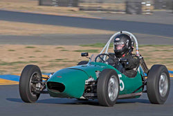 Jim Smith - 1959 Formula Jr BMC in Group 1 - 1959-65 Sports Racing Cars at the 2017 CSRG Charity Challenge run at Sonoma Raceway