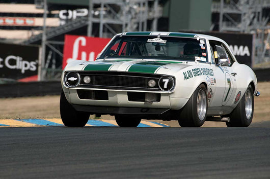 Tony Hart with 1967 Chevrolet Camaro Z28 in Group 10 at the 2016 SVRA Sonoma Historics - Sears Point Raceway