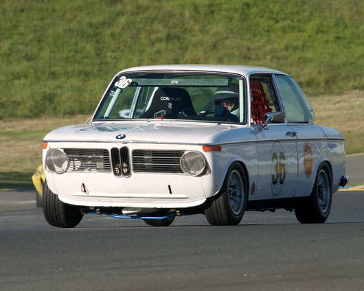 Robert Russell with 1971 BMW 2002 in Group 8 - at the 2016 CSRG David Love Memorial - Sears Point Raceway
