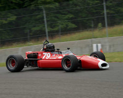 Bobby Brown with 1971 Brabham BTwith29 in Group 1 at the 2015 Sommet des Legendes at Mt Tremblant