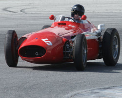 Charles McCabe with 1955 Maserati 250F at the 2016 HMSA LSR Invitational I at Mazda Raceway Laguna Seca