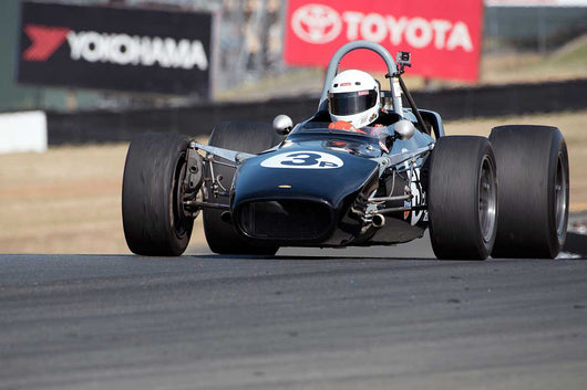Bill Blake with 1968 Lola T140 in Group 11 at the 2016 SVRA Sonoma Historics - Sears Point Raceway