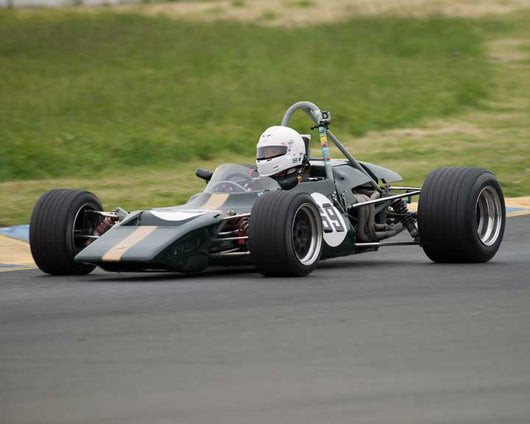 Bruce Leeson with 1969 Lotus 69 in Group 6 at the 2016 CSRG David Love Memorial - Sears Point Raceway