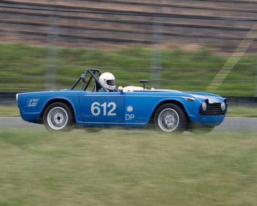 Mike Bruner with 1967 Triumph TR4A in Group 10 at the 2016 CSRG David Love Memorial - Sears Point Raceway
