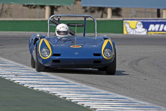 Mark Francis - 1964 Elva BMW Mk 7s in Group 5A  at the 2016 Rolex Monterey Motorsport Reunion - Mazda Raceway Laguna Seca