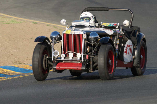 Mark Brandow - 1947 MG TC in Group 1 -  at the 2016 Charity Challenge - Sonoma Raceway