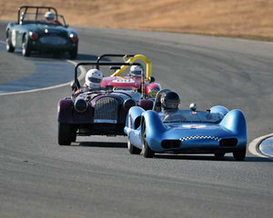 Tom Thinesen with 1961 Elva MK 6 in  Group 4 at the 2015 Season Finale at Thunderhill Raceway