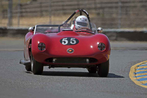 Wes Abendrothat the 2017 SVRA Sonoma Historic Motorsports Festivalrun at Sonoma Raceway
