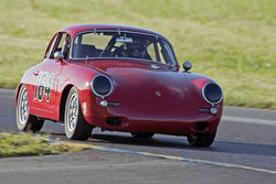 Marc Hugo - 1964 Porsche 356C in Group 2 at the 2017 CSRG David Love Memorial - Sears Point Raceway
