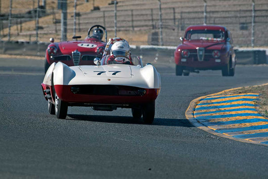 Robert S. Davis - 1955 Abarth 207A in Group 1 -  at the 2016 Charity Challenge - Sonoma Raceway