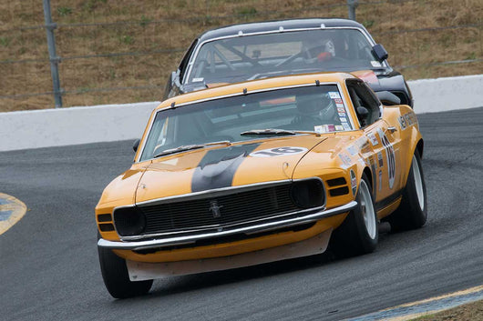 Jim Hague with 1970 Ford Mustang Boss 302 in Group 10 at the 2016 SVRA Sonoma Historics - Sears Point Raceway