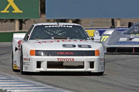 Eric Edenholm - 1986 Toyota Celica GTO in Group 5B  at the 2016 Rolex Monterey Motorsport Reunion - Mazda Raceway Laguna Seca