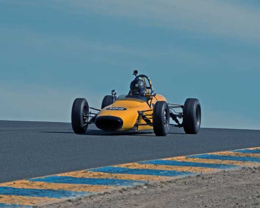 Nicholas Colyvas with 1969 Merlyn 11A in Group 6 at the 2016 CSRG David Love Memorial - Sears Point Raceway