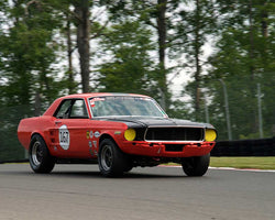 Paul Bissonnette with 1967 Ford Mustang in Group 2 at the 2015 Sommet des LÌÄå_ÌÄåÌÄå_ÌÄå__gendes at Mt Tremblant
