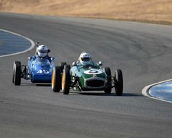 Vern Neff with 1960 Lotus 18 FJ in  Group 5 at the 2015 Season Finale at Thunderhill Raceway