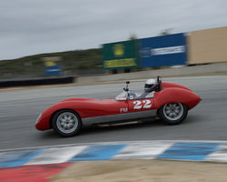 Dale Bloomquest driving his Lola Mk1 in Group 1 at the 2015 HMSA Spring Club Event at Mazda Raceway Laguna Seca