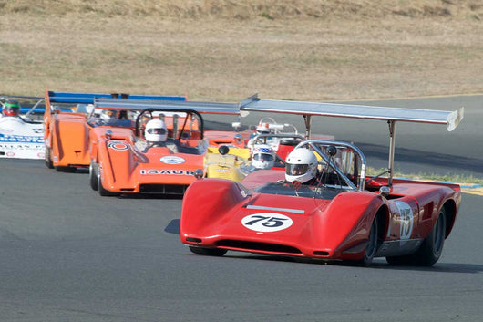 Brian Blain with 1969 Lola T163 in Group 11 at the 2016 SVRA Sonoma Historics - Sears Point Raceway