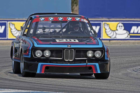 Robert Summerour - 1972 BMW CSL in Group 4A  at the 2016 Rolex Monterey Motorsport Reunion - Mazda Raceway Laguna Seca