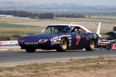 Doug Schultz with 1969 Dodge Daytona in Group 5 -  at the 2016 SVRA Sonoma Historics - Sears Point Raceway