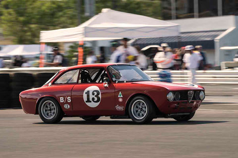 Deborah Briscoe - 1973 Alfa Romeo GTV in Group 8 at the 2017 SVRA Portland Vintage Racing Festival run at Portland International Raceway