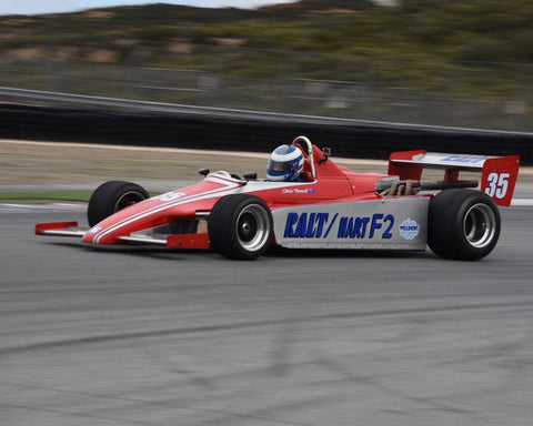 Chris Farrell with 1979 Ralt RT2 in Group 6 at the 2015 HMSA LSR Invitational II at Mazda Raceway Laguna Seca