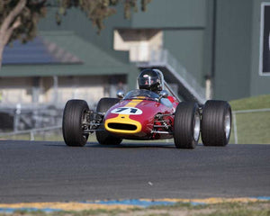 Jonathan Burke with 1965 Brabham BT14 in Group 7  at the 2016 CSRG David Love Memorial - Sears Point Raceway
