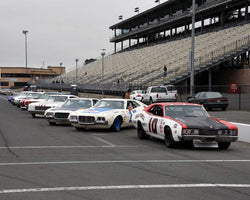 PreGrid for Group 5 - Grand National Stock Cars at the 2015 Sonoma Historic Motorsports Festival at Sonoma Raceway