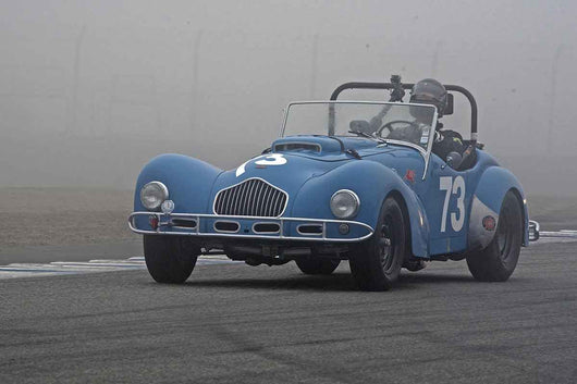 John Mote - 1950 Allard K2 in Group 1B  at the 2016 Rolex Monterey Motorsport Reunion - Mazda Raceway Laguna Seca