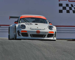 Bob Mueller with 2007 Porsche GT3 Cup in Group 1 - PCA Sholar-Friedman Cup at the 2015 Rennsport Reunion V, Mazda Raceway Laguna Seca