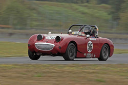 Chip Starr - 1960 Austin Healey Bugeye Sprite in Group 1 at the 2016 SOVREN Columbia River Classic - Portland International Raceway
