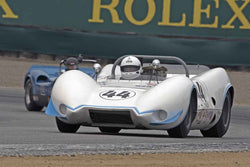 Mogens Christensen - 1965 Wolverine Sports racer in Group 5A  at the 2016 Rolex Monterey Motorsport Reunion - Mazda Raceway Laguna Seca