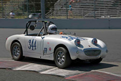 Don Queen - 1959  Austin Healey Sprite in Group 1/3/4 at the 2017 SVRA Portland Vintage Racing Festivalrun at Portland International Raceway