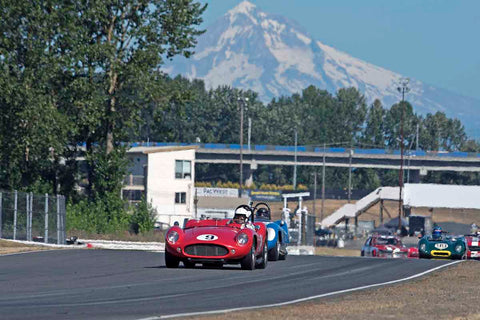 Groups 1/3/4 at the 2017 SVRA Portland Vintage Racing Festival run at Portland International Raceway