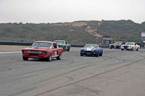 Group 4B - 1963-1966 GT Cars over 2500cc at the 2017 Rolex Monterey Motorsport Reunion run at Mazda Raceway Laguna Seca